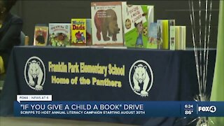 Scripps kicks off If You Give a Child a Book campaign