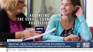 Mental health support for students