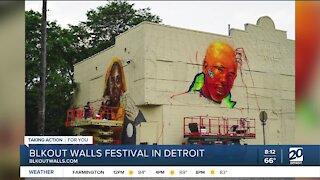 BLKOUT Walls Festival in Detroit