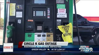 Circle K's gas outage continues across Arizona