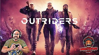 Manstrations Gaming: Outriders - First Encounter With A Captain