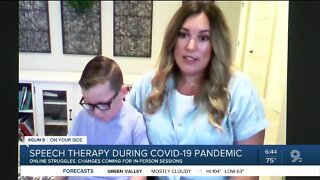 Tucson family dealing with changes to speech therapy during social distancing