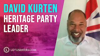 VIDEO: Interview with David Kurten
