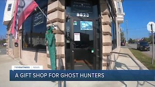 Paranormal Oddities is a gift shop in Depew for Ghost Hunters