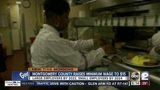 Montgomery County council votes unanimously to raise minimum wage