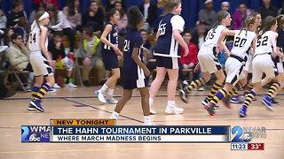 The legendary Al Hahn St. Ursula Basketball Tournament