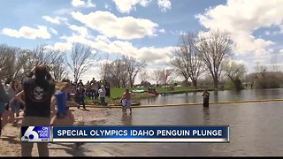 "Special Olympics Idaho teams take ""Penguin Plunge"""