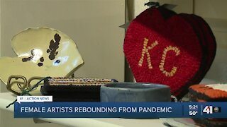 Female artists rebound from COVID-19 pandemic