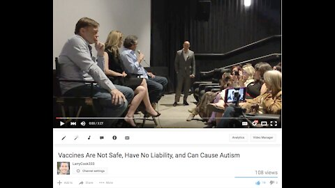 Vaccines Are Not Safe, Have No Liability, and Can Cause Autism