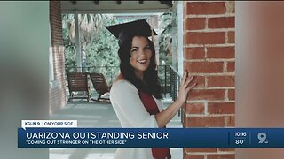 UArizona outstanding senior, Isabel Forlastro