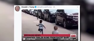 President Trump's tweet labled as manipulated media