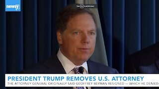 President Trump removes U.S. Attorney who denied resigning from post