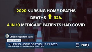 COVID greatly increased deaths for the elderly in 2020