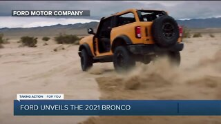 Ford unveils the 2021 Bronco