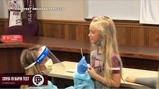 Schools return to hybrid learning in Erie County's orange zone
