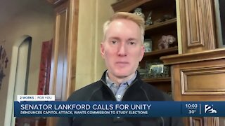 Sen. James Lankford denounces attack on Capitol, calls for unity