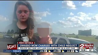 Owasso mom charged with child neglect