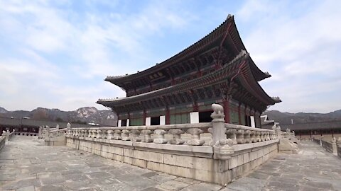 Geunjeongjeon Hall in Gyeongbokgung Palace