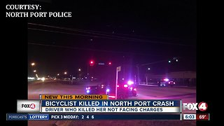 Bicyclist killed in North Port crash