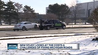 Study says poor roads cost Detroit area drivers $2544 a year