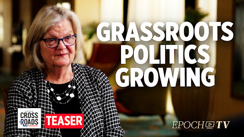 Teaser: American Grassroots Gains Momentum Ahead of 2022 Midterms—Interview With Karen Walto
