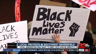 Demonstrators call for police reform
