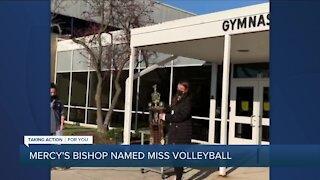 Mercy's Julia Bishop named Michigan's Miss Volleyball 2020