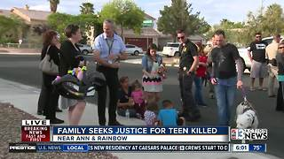 Police hold community event after teen is shot and killed