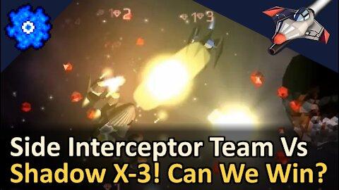 Side Interceptor Team vs Tier 7 Leader! Can we win? Starblast