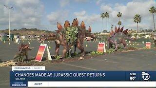 Drive-thru Jurassic Quest comes to Del Mar