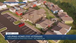 Groundbreaking today for Veterans Community Project in Longmont