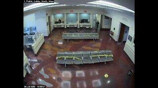 Surveillance video shows inmate escape Denver Jail