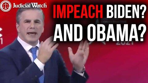 """""""Impeach Biden? And Obama?"""":FITTON (Flashback)"""