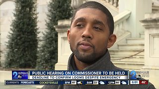 Public hearing on Fitzgerald to be held Saturday