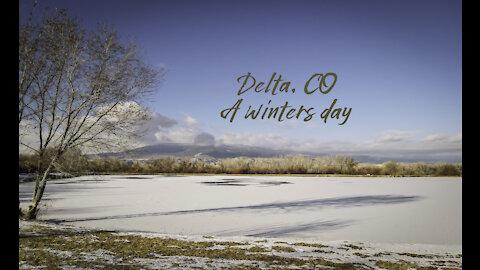 Winters day, Delta CO
