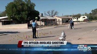 Officer involved shooting, eastside