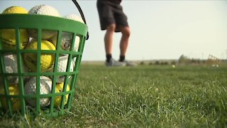Trading the gridiron for golf, Limon High School's football team makes most out of rough situation