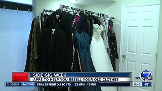 Secondhand clothes making a comeback via apps