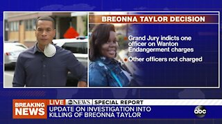 ABC News Special Report: One former officer indicted in connection with Breonna Taylor death