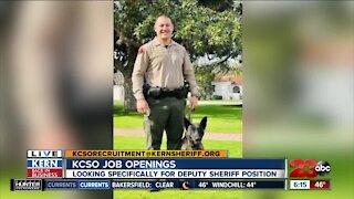 KCSO hiring for deputy sheriff positions