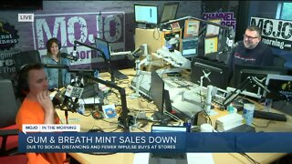 Mojo in the Morning: Gum and breath mint sales down