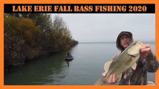 Lake Erie Fall Bass Fishing 2020