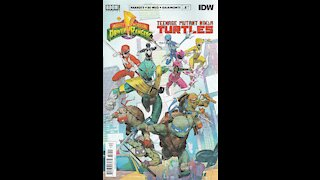 Mighty Morphin Power Rangers /TMNT -- Issue 1 (2019, Boom! Studios / IDW) Review