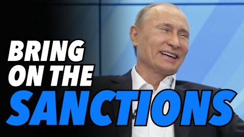 Vlad replies to Joe, 'Sanctions...Bring them on' (Live)