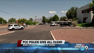 PCC gives all clear following suspicious package found at district office