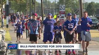 Bills fans excited for 2019 season