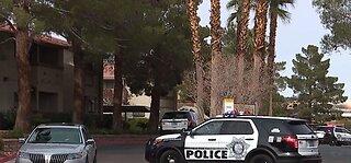 Police investigate shooting in west Las Vegas
