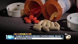 Opioid addicts seek alternative treatment in Mexico