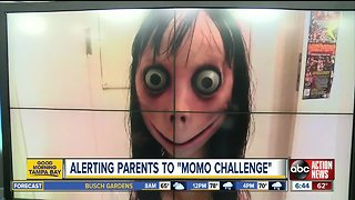 Parents warn about potentially deadly 'Momo Challenge' across social media