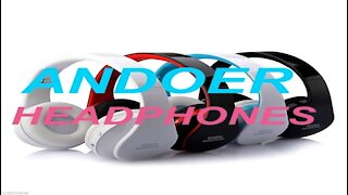 Andoer Wireless Bluetooth Headphones Unboxing